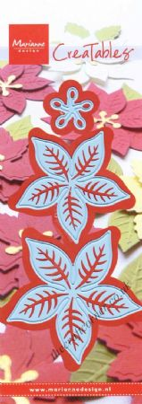 Poinsettia Die & Embossing Set by Marianne Design